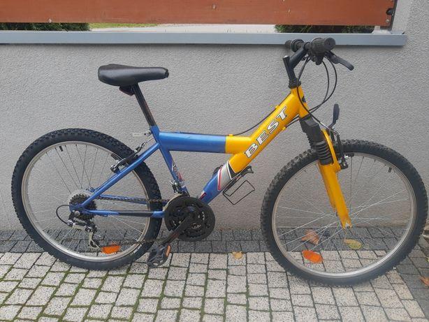 """Rower MTB Kross Jest koła 24"""", rama 14"""", 3x6 Shimano"""