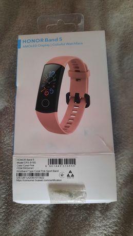 Smartband HONOR Band 5 różowy