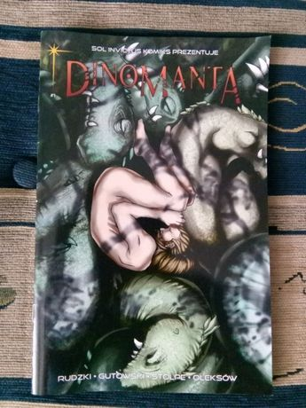"Komiks ""Dinomanta"" komiks polski"