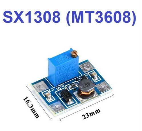 DC-DC повышающий преобразователь SX1308 (MT3608)