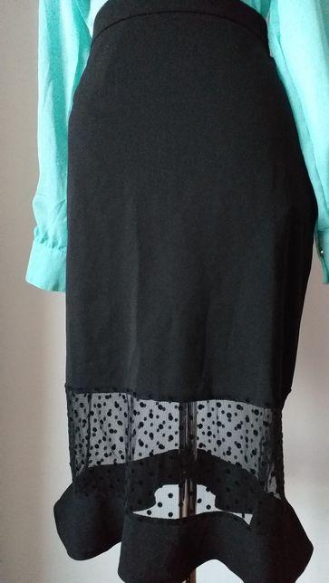 Чёрная юбка 48