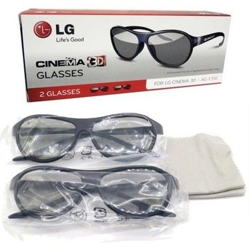 Okulary 3D LG Cinema AG-F310 (2-pak) pasywne BOX oryginalne