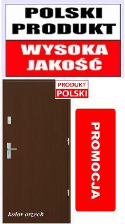 Drzwi gładkie do mieszkania
