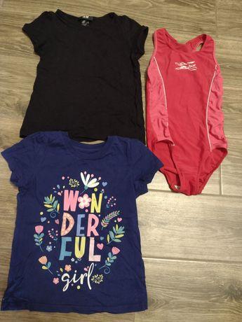 Пакет одежды для девочки 4-6 лет + купальник + обувь (цена за всё!)