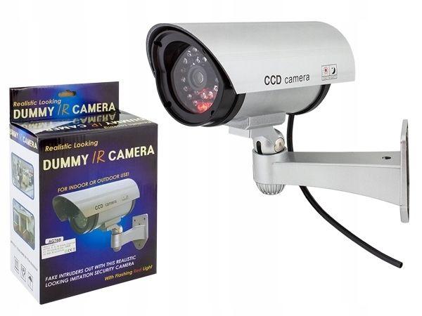 KAMERA ATRAPA IR LED kamery ZEWNĘTRZNA z diodą atrapa ir