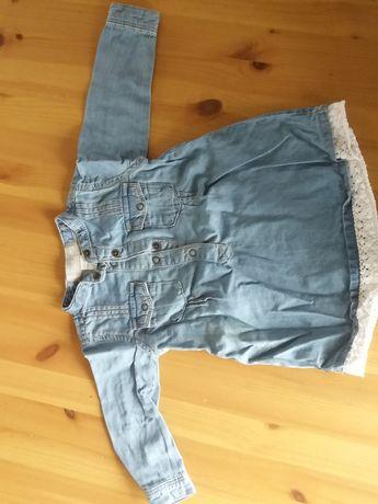 Sukienka jeansowa 68