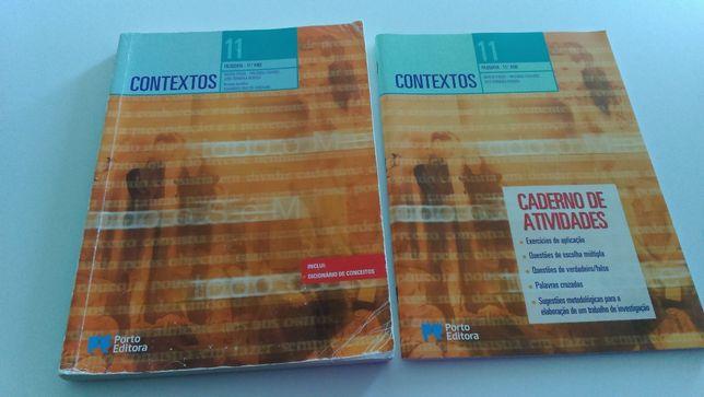Livro escolar de Filosofia 11 ano e caderno de actividades