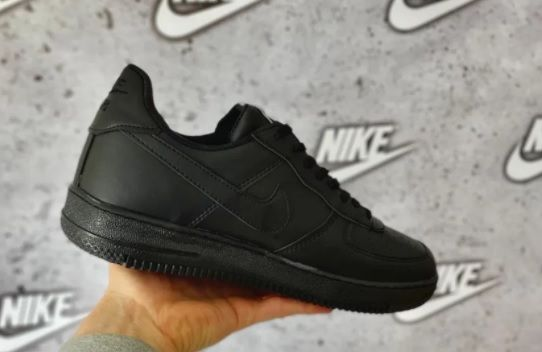 Nike Air Force Czarne. Rozmiar 44. Męskie. KUP TERAZ! NOWE
