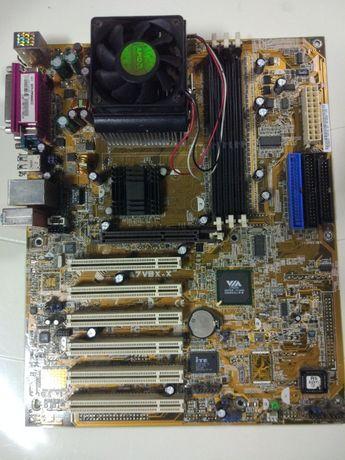 Bundle Motherboard Asus A7V8X-X + Processodor AMD Sempron 2500+ + Cool
