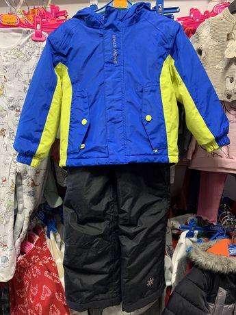Зимний лыжный комбинезон куртка Lupilu