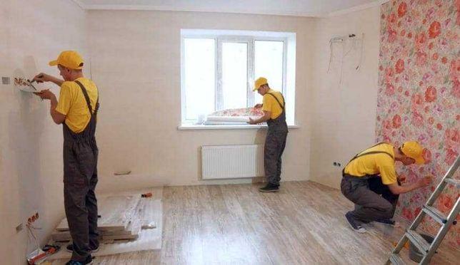 Ремонт квартир, домов, офисов под ключ в Днепре и Каменском