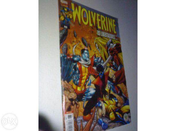 coleção Wolverine nº 98, 92 e 83 marvel ineditos 1990
