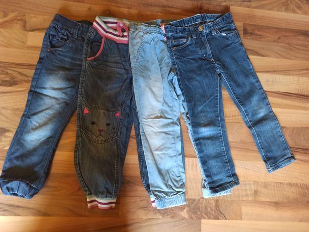 Spodnie dżinsowe jeansy paka paczka