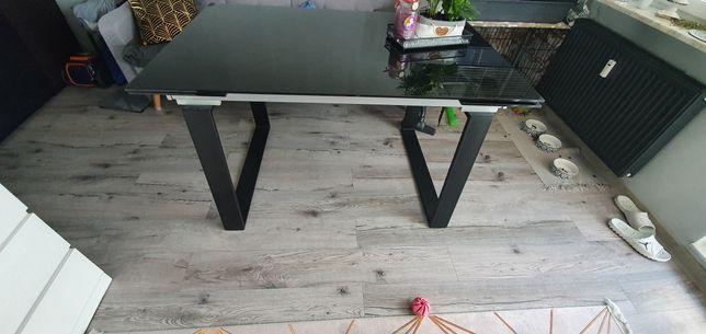 Stół szklany rozkładany 90x140 max 200