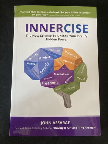 Livro INNERCISE - The New Science to Unlock your Brain's hidden power