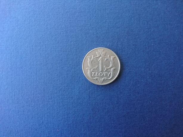 Moneta 1 złoty z 1929r.