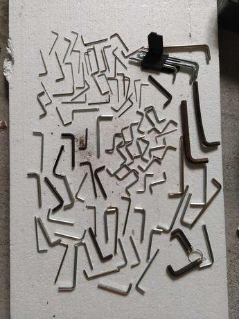 Klucze imbusowe metalowe