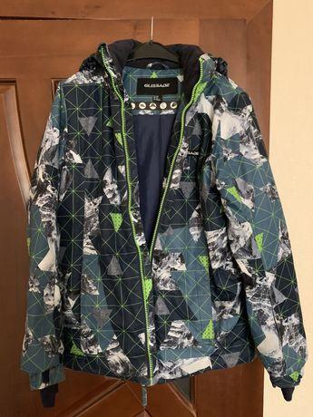 Зимняя лыжная курточка на мальчика рост 160-170 см