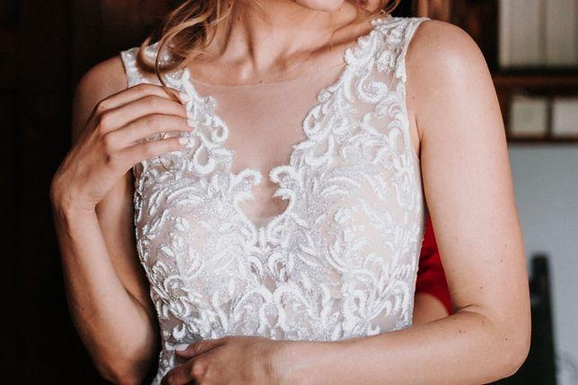 Suknia Ślubna, rozmiar S, stan idealny