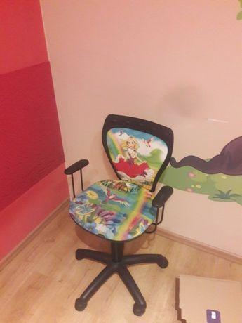 Obrotowe krzesełko dziecięce