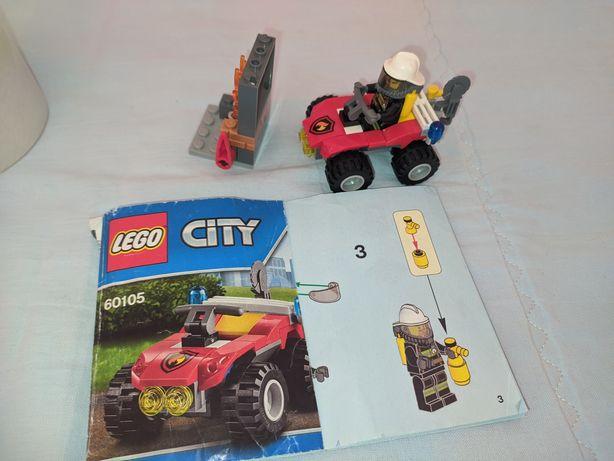 Лего City пожарная машина оригинал