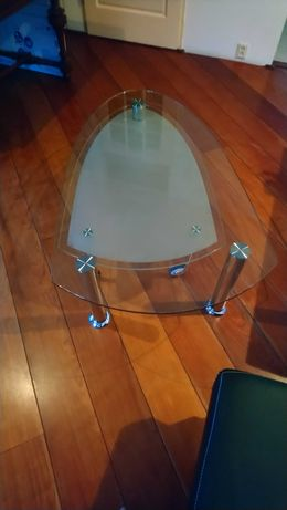 Ława szklana ,wysuwany dół