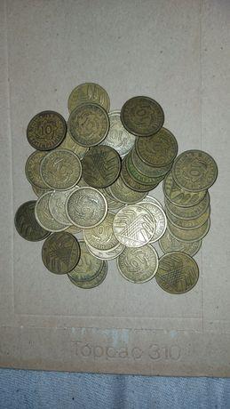 Monety 5 i 10 pfennig Republika Waimarska