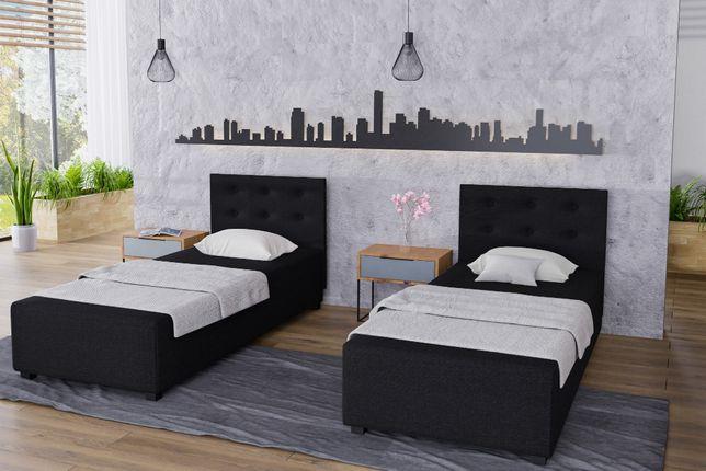 Łóżko jednoosobowe, tapczan, łóżko hotelowe tapicerowane wyprzedaż Hu