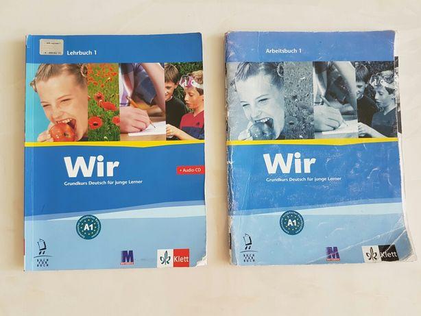 Учебники,немецкий, Klett, A1, рабочая тетрадь+учебник+CD