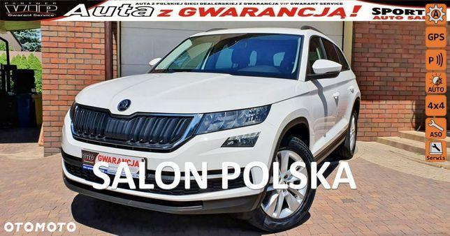 Škoda Kodiaq 2.0 TSI 180 KM, 4X4 DSG, Ambition,Salon PL,Serwis ASO tylko 62 tys km