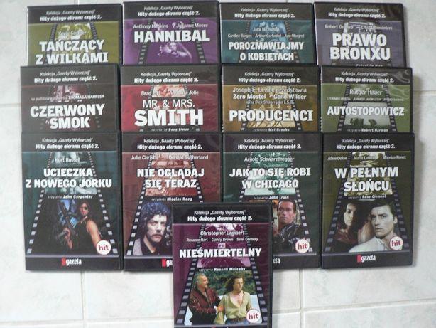 Kolekcja filmów DVD - Hity dużego ekranu cz. 2