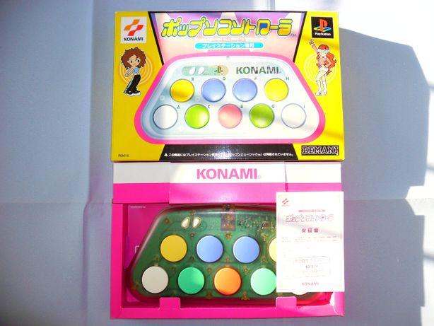 Kontroler Bemani Pop'n Music Minicon RU014 PS1 PSOne PSX PS2