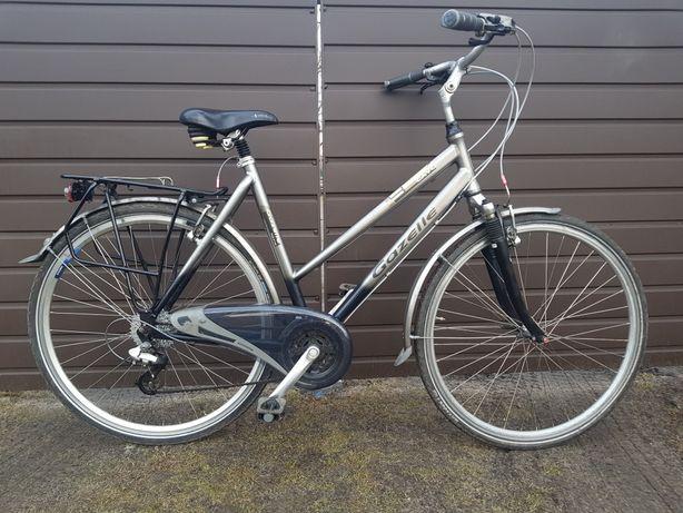 Велосипед дамка на 28 колесах GAZELLE алюмінієвий