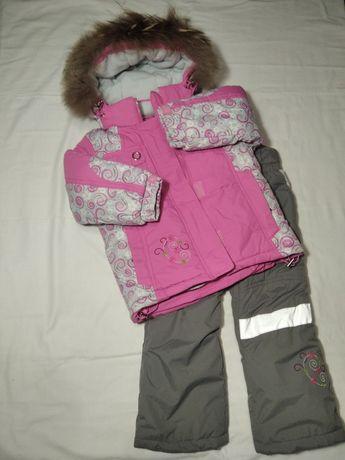 Baby line (Libellule) зимний комбинезон для девочки 98-104 см.