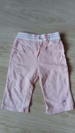 Spodnie dziewczęce Mothercare różowe 3-9 miesiace