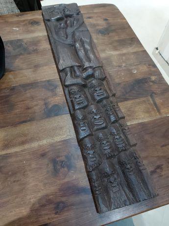 Quadro Africano feito á mão