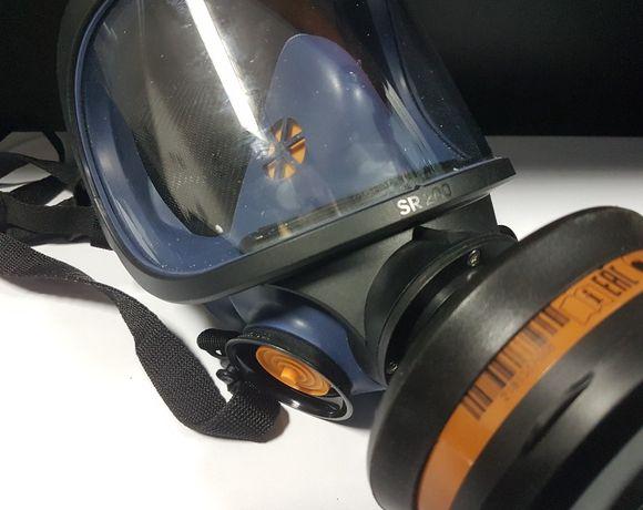 Maska Pełnotwarzowa Sundstrom Sr200 Pc + Filtry