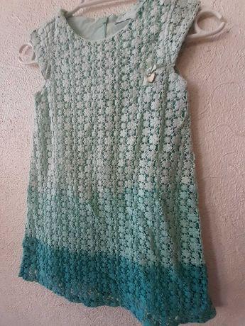 Vestido Mayoral crochet