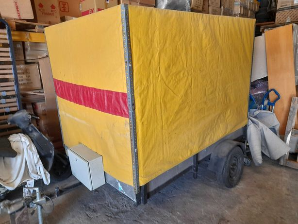 Atrelado carga 750kg com toldo