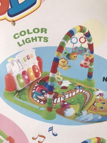 Дитячий коврик зі звуковими та світловими ефектами Baby Carpet
