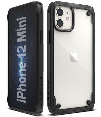 Capa Bumper Ringke Fusion Iphone 12 Mini - Preto