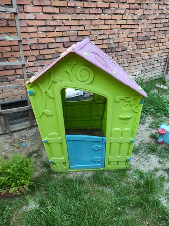 RezerwacjaDomek ogrodowy plastikowy dla dzieci