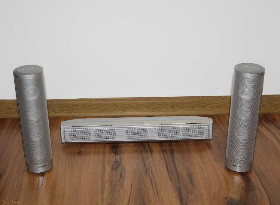 PHILIPS głośniki centralny + monitory zestaw Wysyłka
