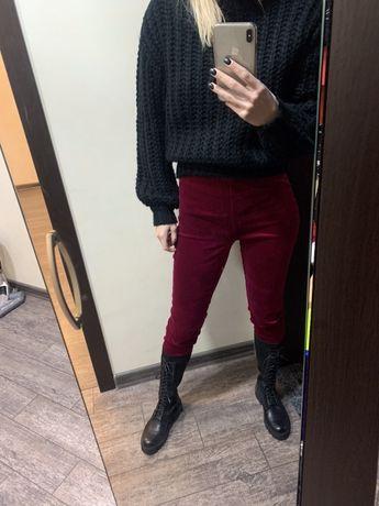 Теплые велюровые штаны Ralph Lauren