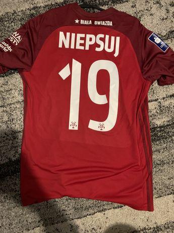 Koszulka meczowa Wisła Kraków David Niepsuj.