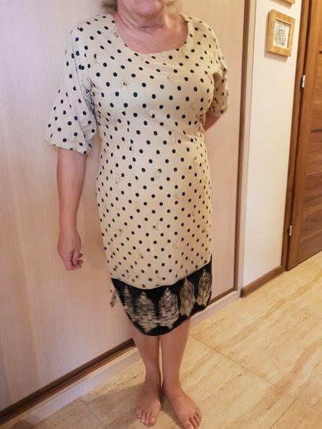 Śliczna sukienka w grochy
