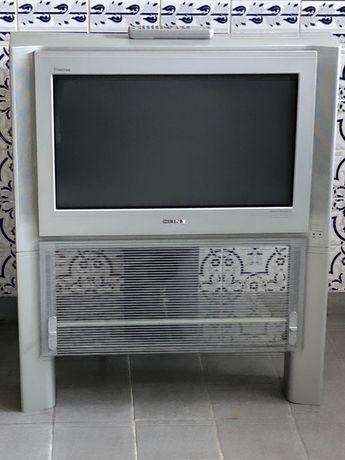 TV Sony Trinitron Color 100Hz KV-28FX65E com movel original.