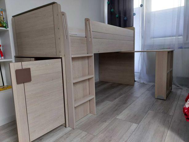 Łóżko jednoosobowe + biurko