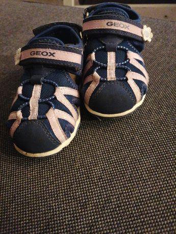 Geox rozm. 23 sandały dziewczęce