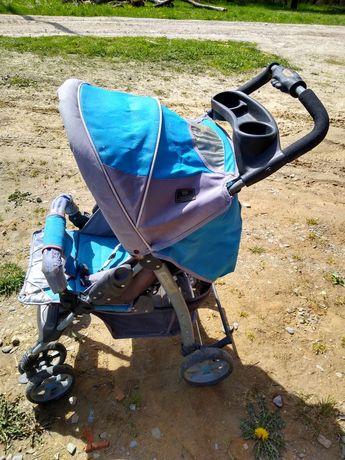 Oddam wózek spacerowy sprawny stan wizualny średni